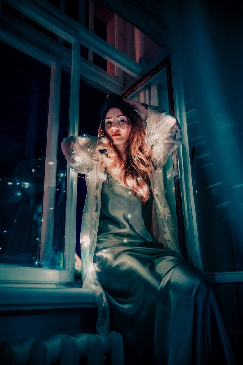 Girl in the window by anna-peipina - Image Of The Month Photo Contest Vol 43