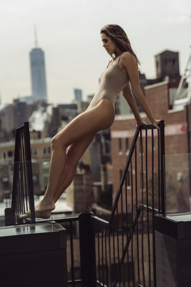 Anya in NYC by katgorbanov - Image Of The Month Photo Contest Vol 43