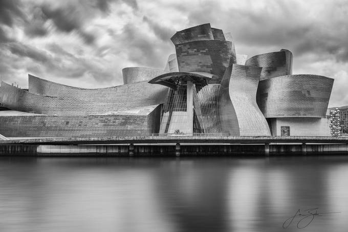 Thinking in Waves - The Guggenheim Bilbao by jonbarkeruk - My Best New Shot Photo Contest