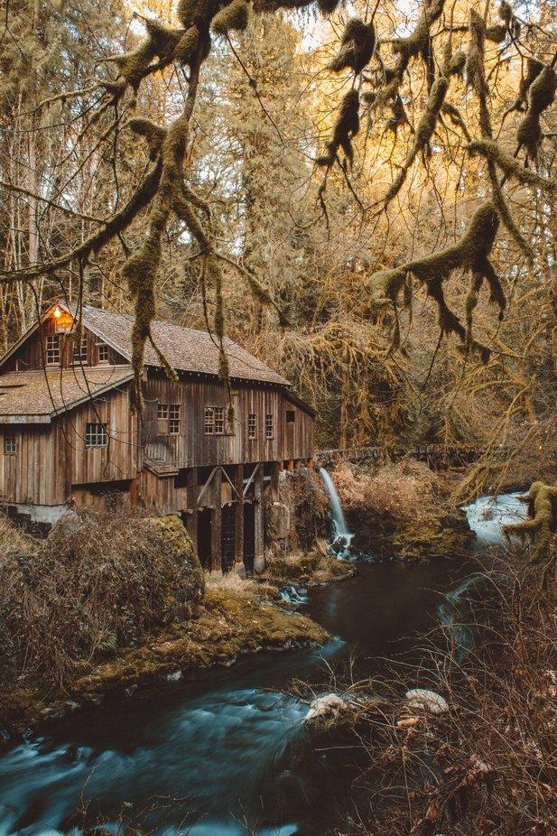 Washington grist mill by kurtvolkle - My Best New Shot Photo Contest