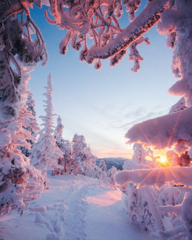 Winter in Finland by niiloi - My Best New Shot Photo Contest