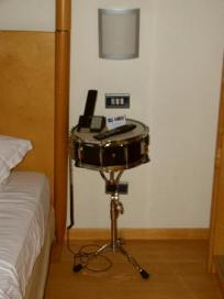 drum-bedside-table