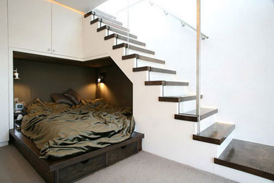 Τι μπορείτε να κάνετε στο χώρο κάτω από τη σκάλα