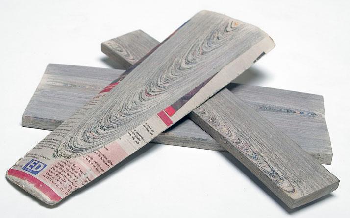 Όταν το χαρτί γίνεται ξύλο