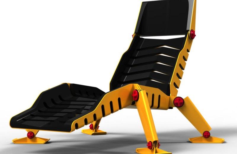 Η πολυθρόνα μπουλντόζα