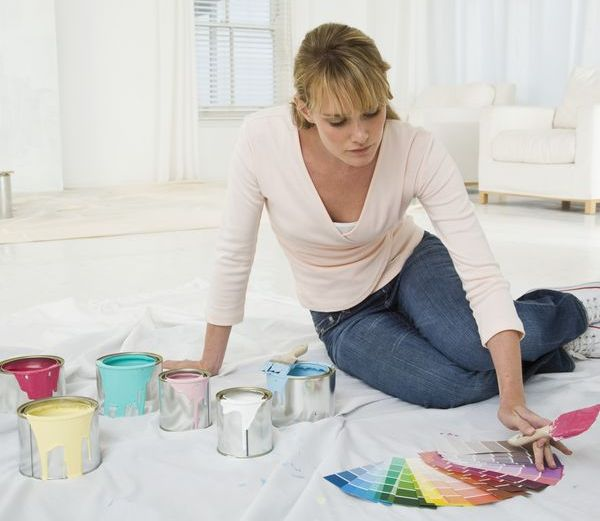 Ανανεώστε το χώρο με χρώμα και απλές παρεμβάσεις