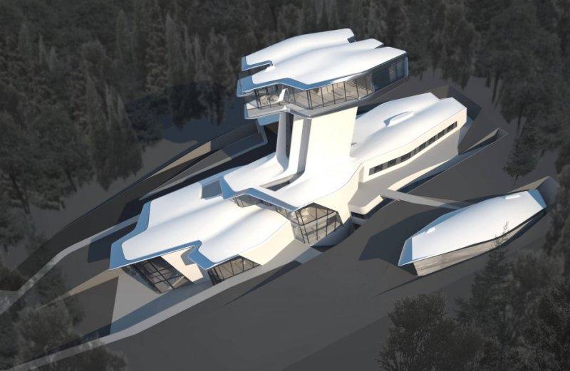 Ο Ρώσος δισεκατομμυριούχος φίλος της Naomi Campbell χτίζει ένα σπίτι που μοιάζει με διαστημόπλοιο