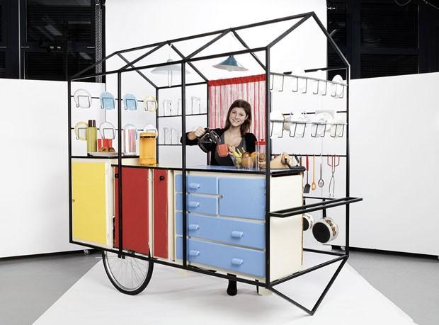 Φορητή κουζίνα για μικρούς χώρους
