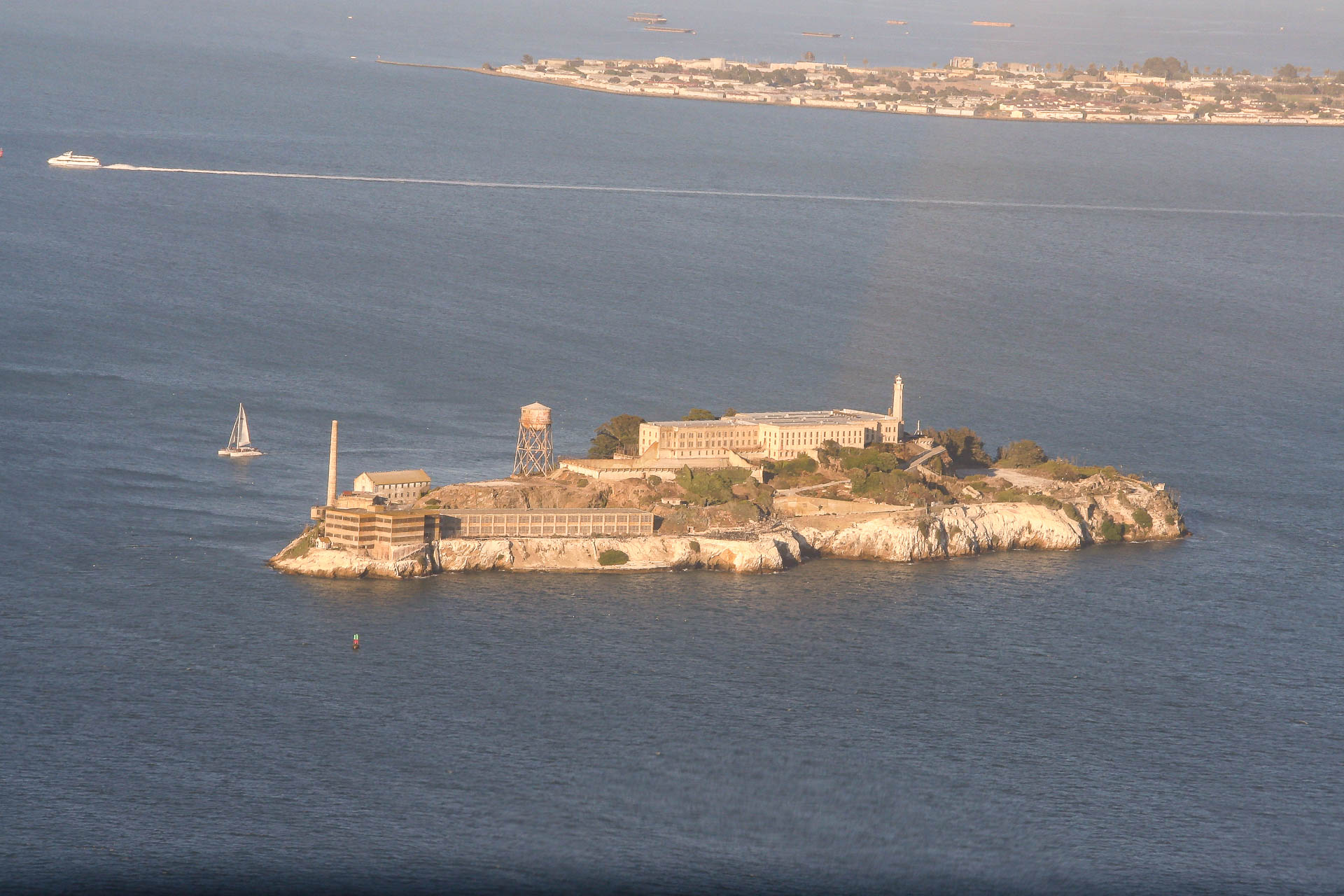 Alcatraz von oben