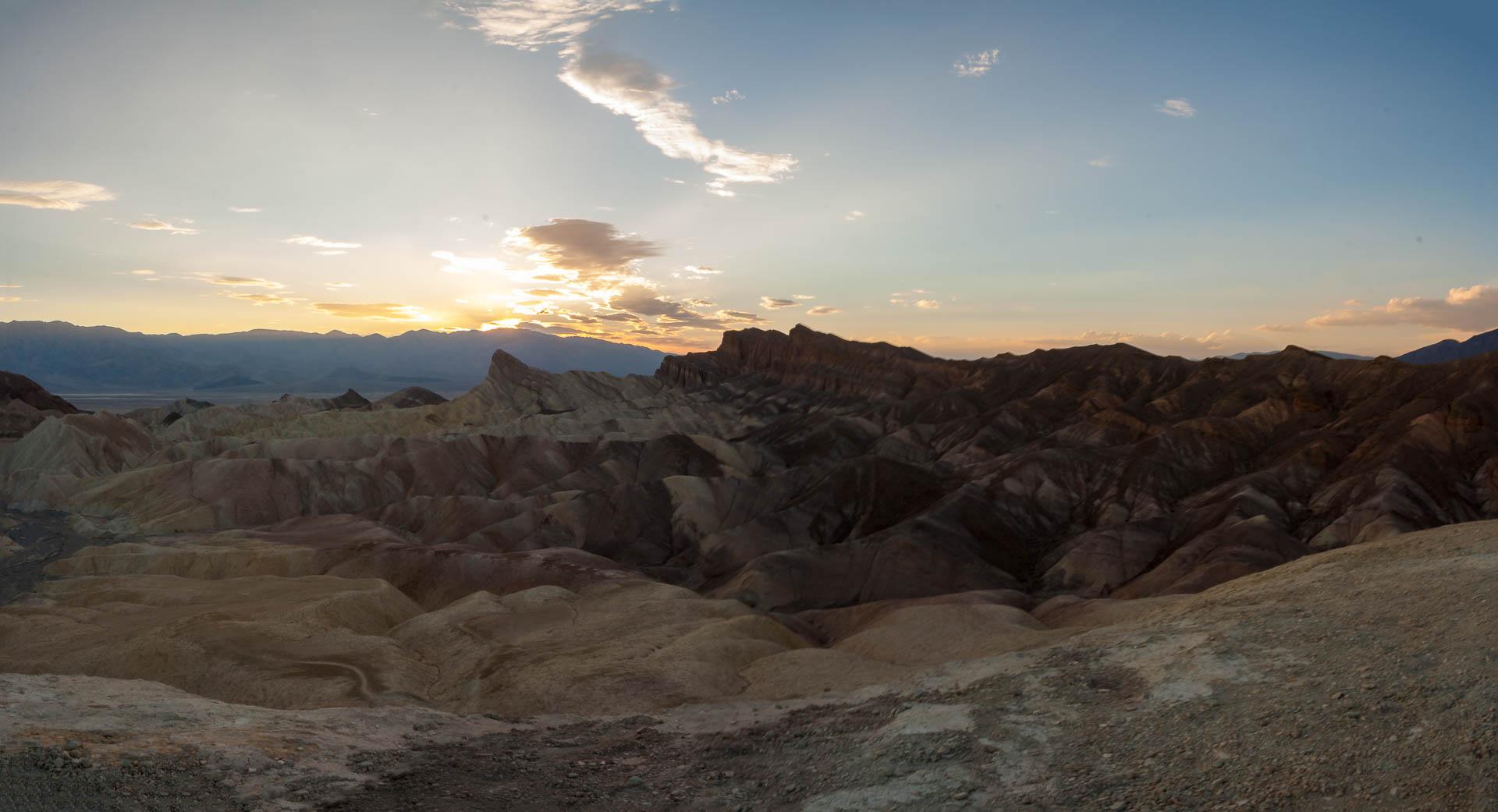 Zabriski Point Sunset
