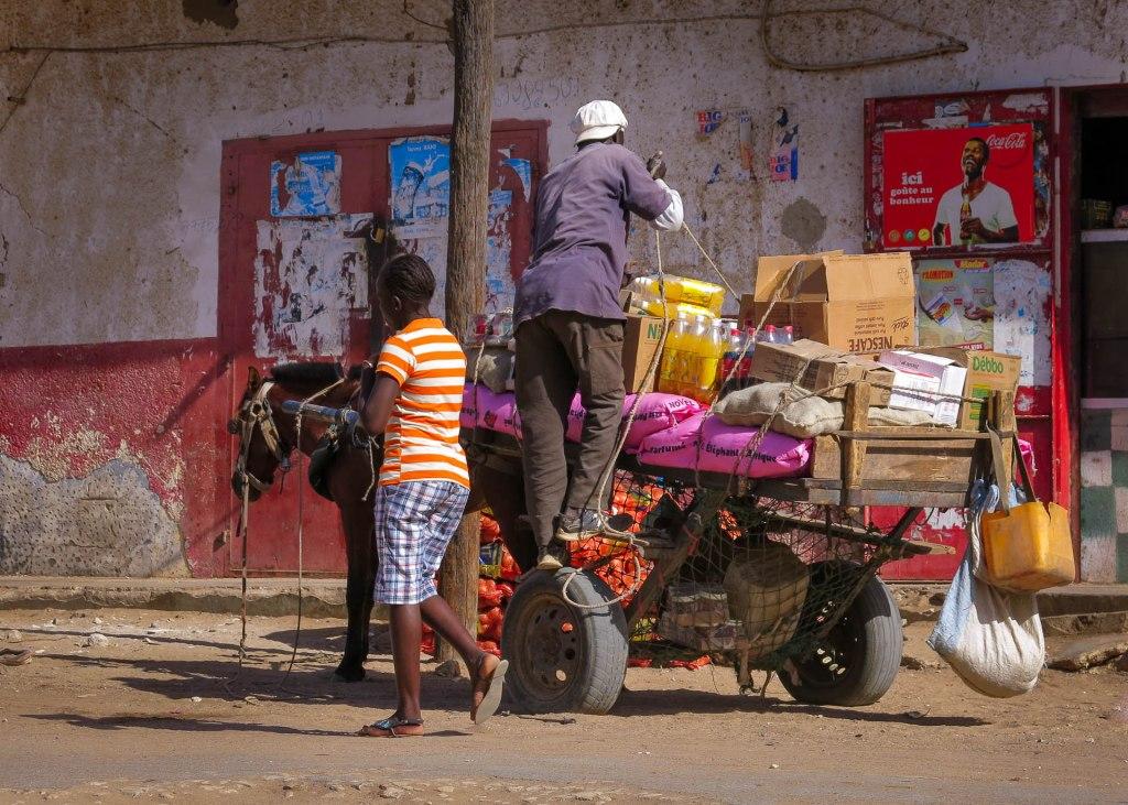 Guetertransport in Senegal