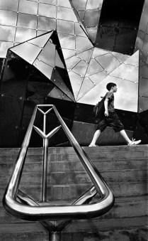 Roy Lambeth - Geometric Shapes (Les Fredericks, Prints - SOM)