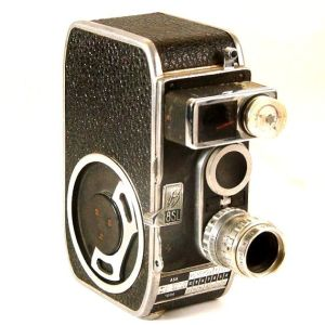 My 8mm animation camera, the Bolex B8SL. I still have it - and it still works!