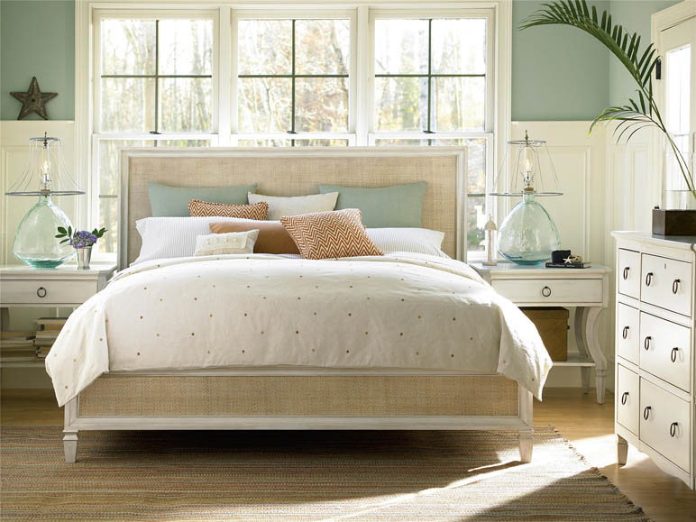 Round Tall Queen Storage Bed