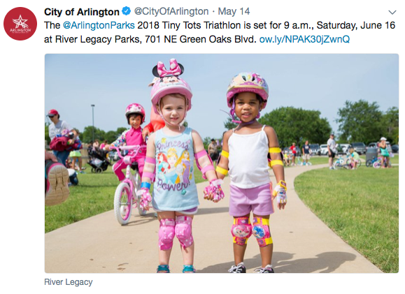 City of Arlington Texas Tiny Tots Triathlon