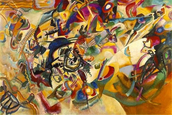 Composition VII (Wassily Kandinsky, 1913)