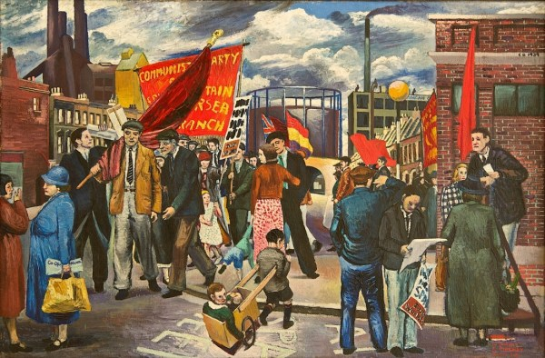 Demonstration at Battersea