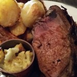 Roast Beef at the Barn restaurant in Rainham