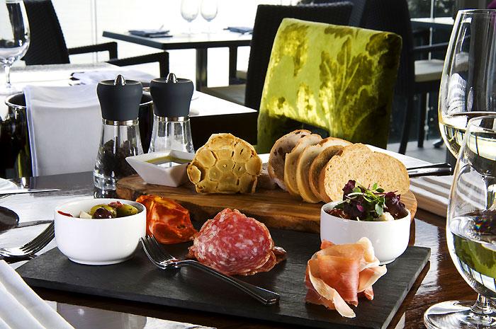 Italian Charcuterie Board at Edge Restaurant
