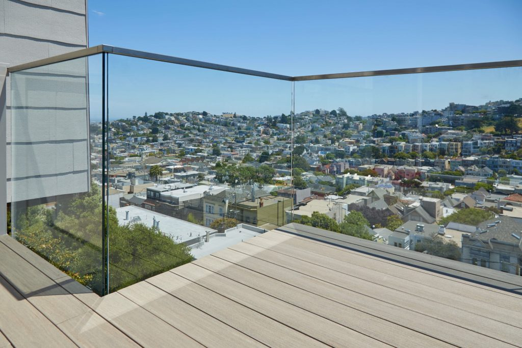 Side Mount Deck Glass Railing Viewrail