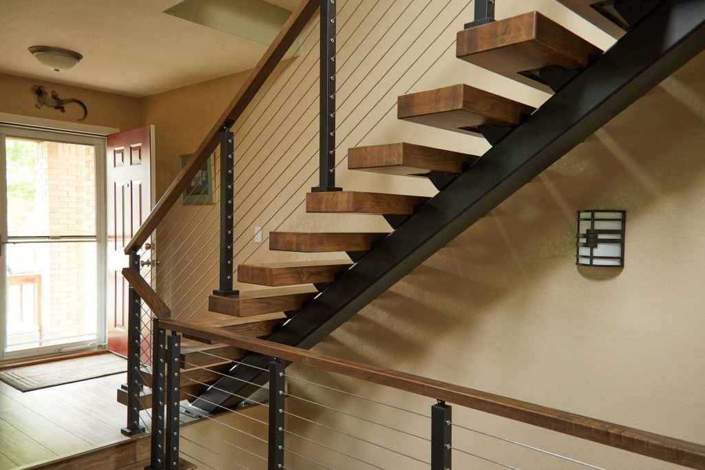 How Much Do Floating Stairs Cost Viewrail | New Stair Railing Cost | Staircase Ideas | Glass Railing | Staircase Design | Stair Parts | Wooden Stairs