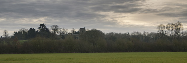 Holy Trinity Church from the Ouse Valley
