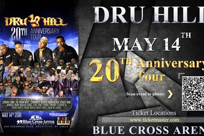 Dru Hill Concert – Digital AD