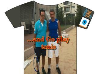 T-shirt Stories: Τα φιλαράκια το ...παίζουνε (το τένις των)