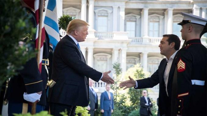 συνάντηση Τραμπ- Τσίπρα