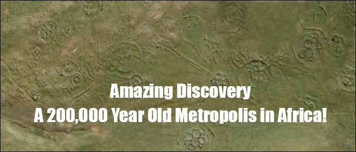 El hallazgo de una metrópoli de 200,000 años de antigüedad mostraría un impactante y turbador pasado humano, ya descrito en registros, escrituras y leyendas arcaicas (1/6)