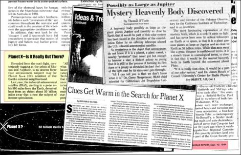 Risultati immagini per planet x, IRAS
