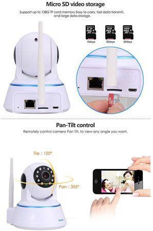 Tenvis cv202 camara ip wifi