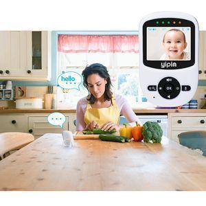vigilabebés inalámbrico con cámara digital yipin 2.4