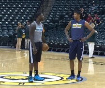 Could Stephenson and Paul George pair up again? Lance is interested.