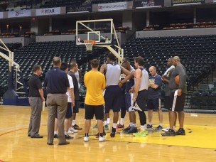 Pacers held their second pre-draft workout on Tuesday and it was heavy on guards.