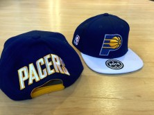 Pacers official draft hat in 2015.