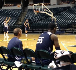 Coach Frank Vogel was just what Hibbert needed after Jim O'Brien, and he has always been in his corner.