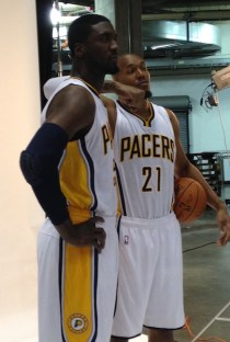 The frontcourt duo of Hibbert and West is no more in Indy.