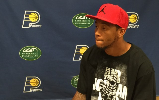 Monta Ellis signed with the team and met with local reporters last Tuesday.