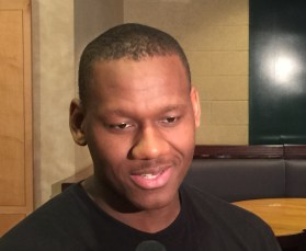 Lavoy Allen sense of humor was on full display Tuesday morning.