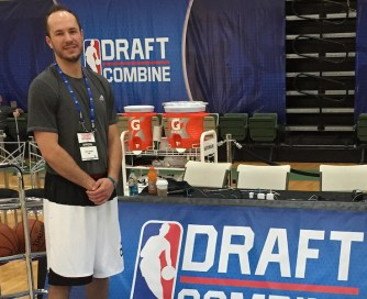Toppert has assisted various station skills at the NBA Draft Combine the last three years.