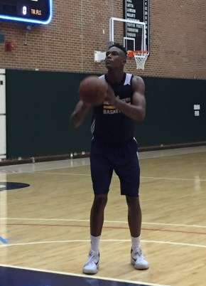 In his first Summer League game, Turner finished with 20 points, 8 rebounds, and 3 blocks in 28 minutes.