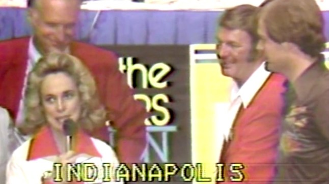 Nancy Leonard was instrumental on putting on the telethon, which saved the Pacers.