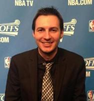Mike Mazzeo is on the Brooklyn Nets beat during the regular season.