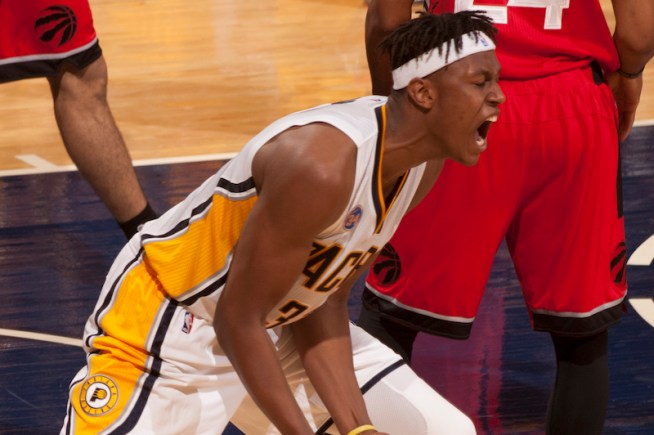 Myles Turner will take a larger role next season as he enters his second year. [Frank McGrath/PS&E]