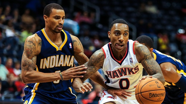Both George Hill and Jeff Teague will earn $8 million next season.