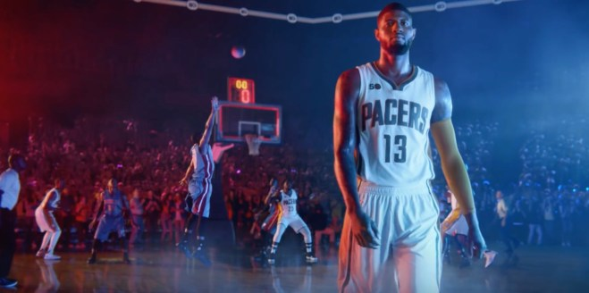9a21451c6acc2b  VIDEO  Cousins Paul George and Joe Young in new Gatorade Recover spot .   Nike unveils Paul George s signature shoe