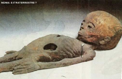 Uma múmia de outro planeta?