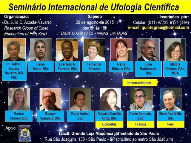 Seminário internacional discute Ufologia em SP