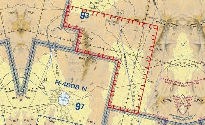 Risco de invasão faz Força Aérea americana restringir voos sobre a Área 51 - Portal Vigília
